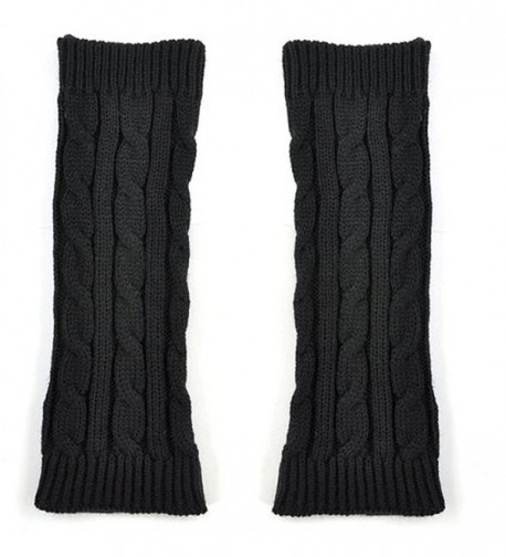 GUAngqi Womens Crochet Fingerless Gloves in Fashion Scarves