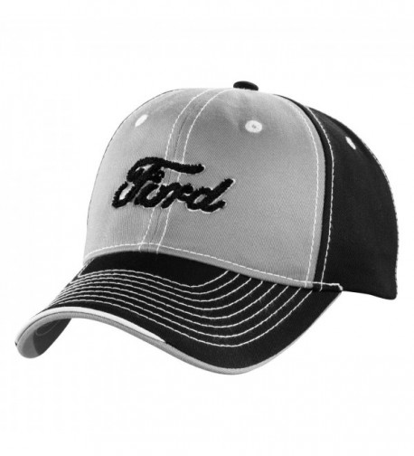 Genuine Ford Black and Gray Script Baseball Cap Hat - CX11JJXS1MZ