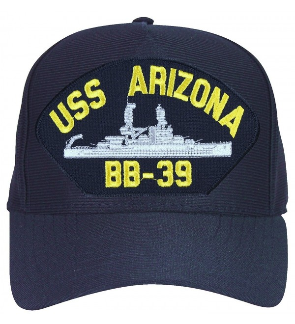 USS Arizona BB-39 cap. Navy Blue. Made in USA - CL12MYOBHE2