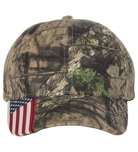 Outdoor Cap CWF305 - Cap with Flag - Mossy Oak Country - CM11KJ0TRGB