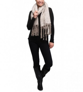 Apparelism Super Tassel Oblong Scarf
