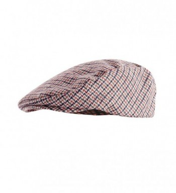 Universal Textiles Tweed inches Design in Men's Newsboy Caps