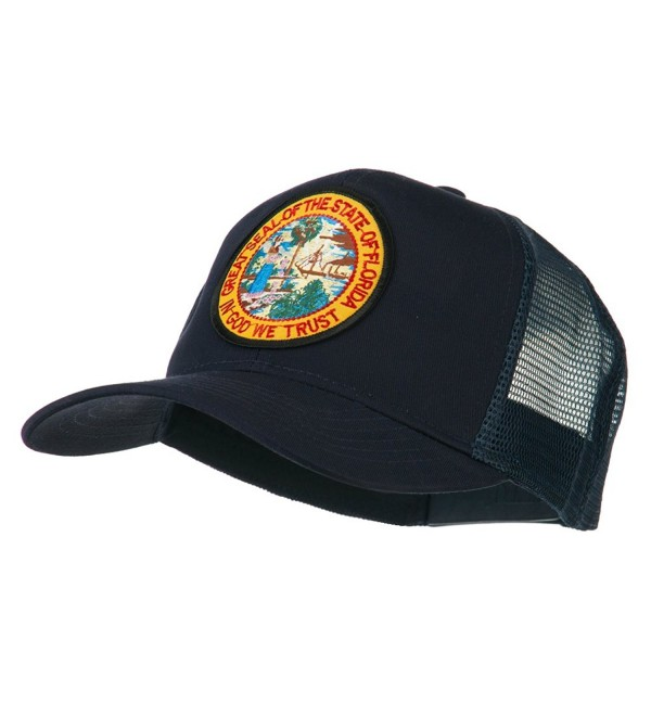 Florida State Patched Mesh Cap - Navy - C411Q3T2XZT