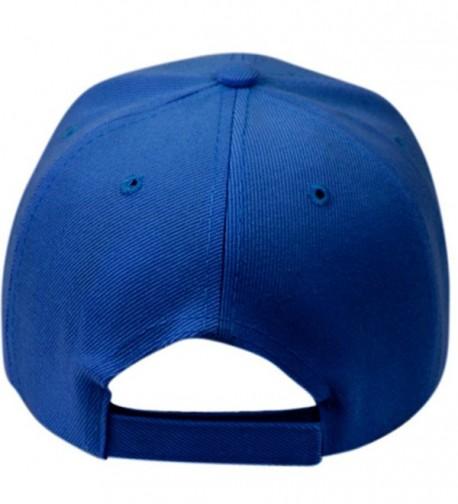 Plain Baseball Blank Velcro Adjustable in Men's Baseball Caps