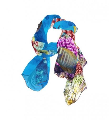 Tropical JSTEL Elegant Fashion Neckerchief