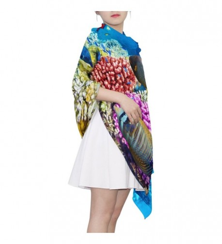 Tropical JSTEL Elegant Fashion Neckerchief in Wraps & Pashminas