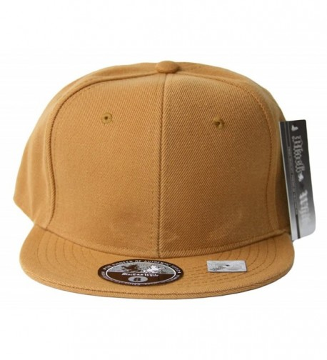 Fitted Acrylic Plain Style Light Brown Hat - CD119055CAZ