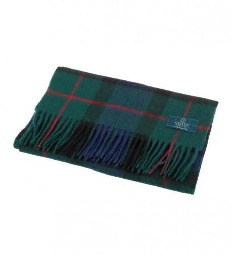 Clans Scotland Scottish Tartan Scarf in Cold Weather Scarves & Wraps
