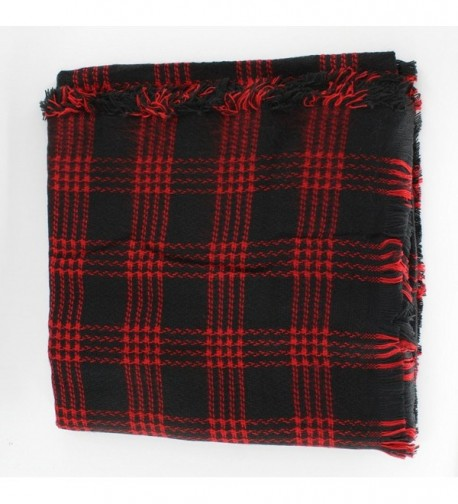 Jiao Miao Womens Blanket 170801 red in Fashion Scarves
