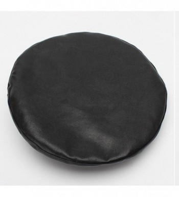 Qiabao Womens Adjustable Leather Beret in Women's Berets