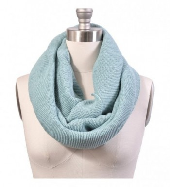 HUE21 Womens Basic Infinity Turquoise in Cold Weather Scarves & Wraps