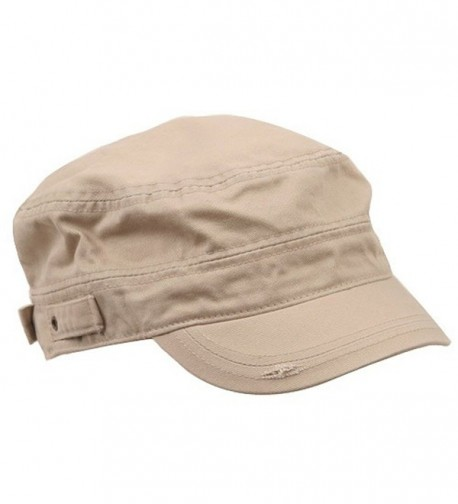 MG Star Cotton Army Cap Khaki
