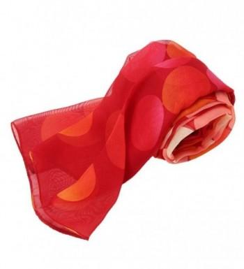 Deamyth Chiffon Printing Headscarf Watermelon