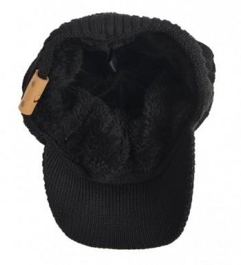 FORBUSITE Chunky Fleece Winter Beanie in Men's Skullies & Beanies