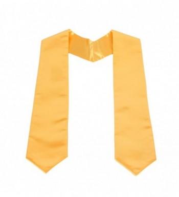 GraduationService Unisex Plain Graduation Stole in Fashion Scarves