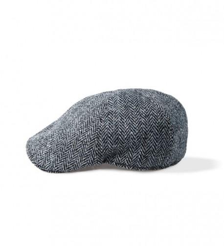 Boyne Valley Knitwear Harris Tweed Touring Cap by - CX12KO31H0L