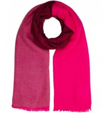 Joules Women's Berkley Mid Sized Warm Handle Wrap Scarf - True Pink - C512G5DUV33