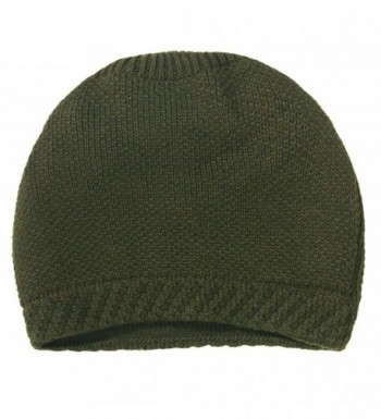 Simplicity Winter Slouchy Beanie Solid_Olive