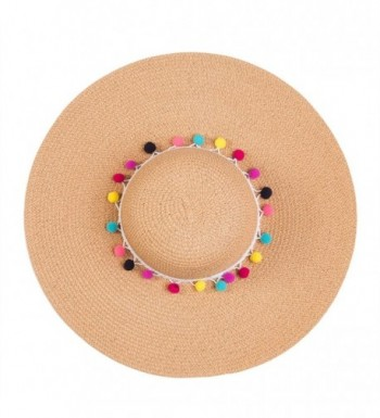 Chic Soul Multi Color Floppy Straw