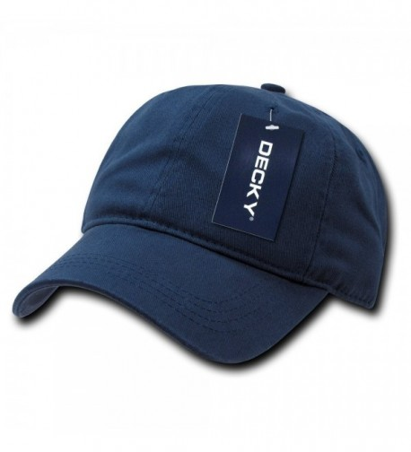DECKY Two Ply Polo Cap - Navy - C31199QDG5J