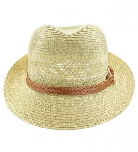 Faddism Fashion Fedora Hat Tan