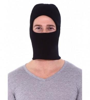 Simplicity Winter Warm Balaclava Outdoor Sports Ski Full Face Mask- Black - CP11BATYCW3