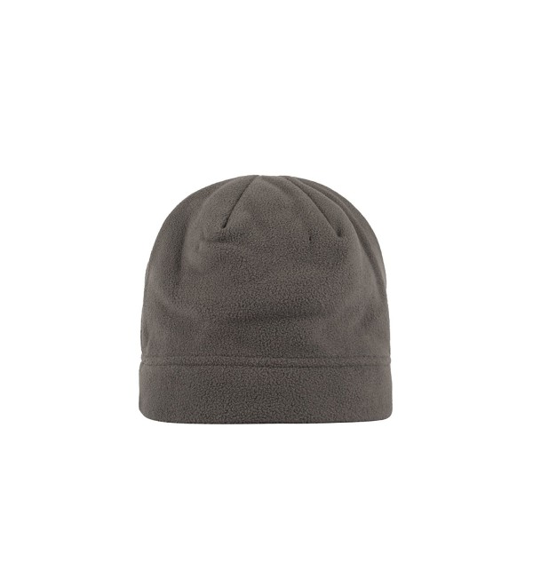 089d7a6ad Mens Beanie Hat Super Soft Insulated Fleece (Grey- One Size) CA12J6ZDHRJ