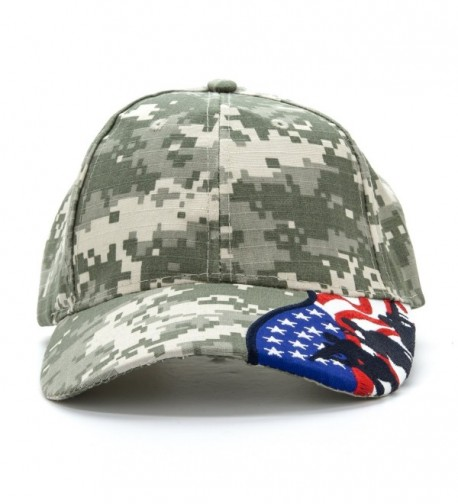 Army Force Gear Embroidered Silhouettes in Women's Baseball Caps