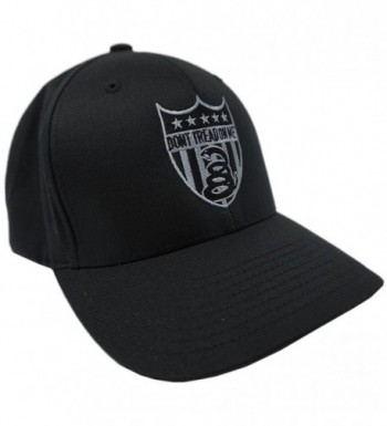 """Don't Tread On Me Brand """"SNAKE BADGE"""" Flex Fitted Hat DTOM Brand (LARGE - X-LARGE) - CI11CE7F96J"""