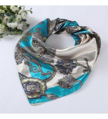 Womail Women Printed Square Kerchief in Fashion Scarves
