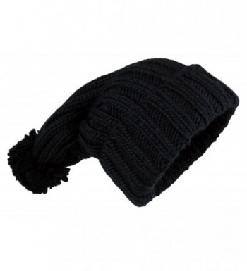 Womens Extra Oversize Cable Beanie in Women's Skullies & Beanies