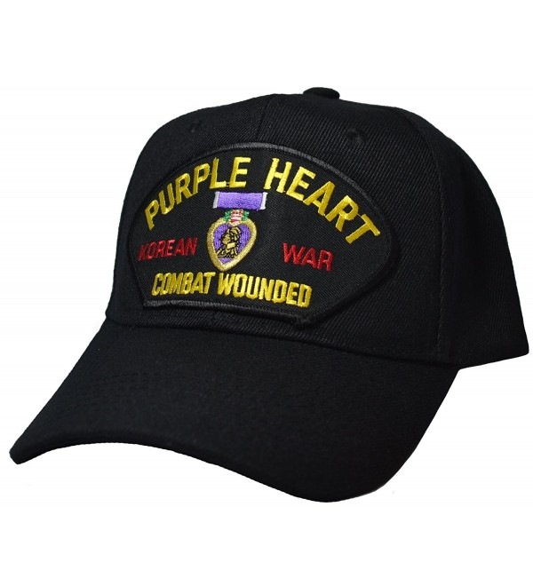 Purple Heart Korean War Combat Wounded Cap - CW12DJFSF97