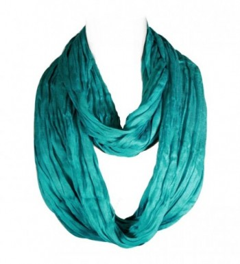 Wrapables Lightweight Silky Infinity Turquoise