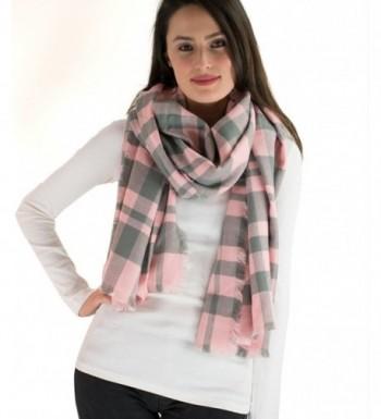 Classic Simple Plaid Blanket Scarf