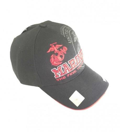 Aesthetinc Marines Official Licensed Emblem in Women's Baseball Caps