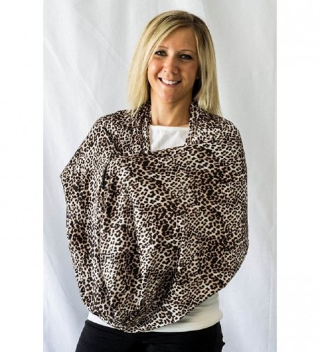 Sholdit Nursing Scarf Safari Brown
