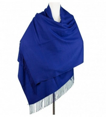 Cashmere Poncho Blanket Scarfs Fringe in Fashion Scarves