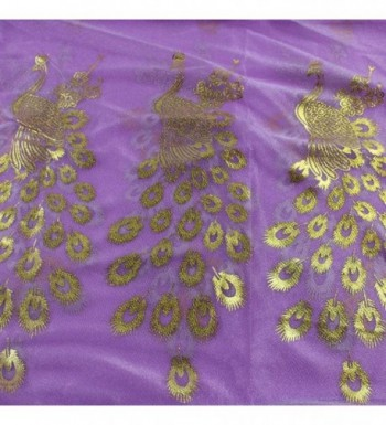 Peacock Flower Pashmina Infinity Scarves in Wraps & Pashminas