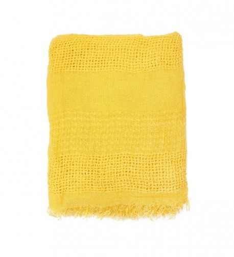 MYS Collection Infinity Scarf Mustard