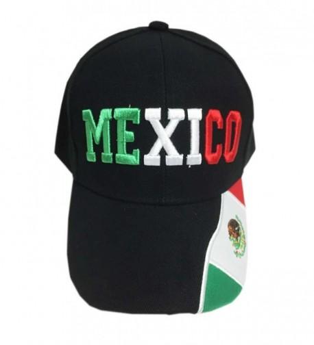 Aesthetinc Mexico Baseball Cap Hat Embroidery Design - CB128UPVYVR