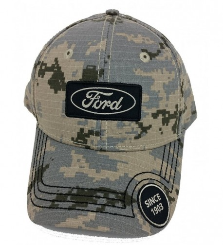 Ford Desert Camo Baseball Hat Est 1903 One Size Fits All - CT12BNHHO81