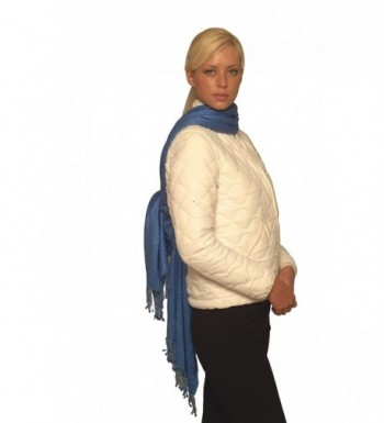 Scarf/scarves/Pashmina scarf from Cashmere Pashmina Group (Royal Blue) - C91117UOQ0T