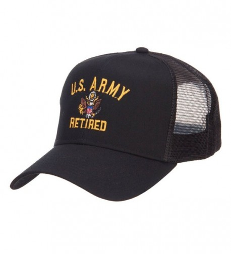 E4hats Army Retired Military Embroidered