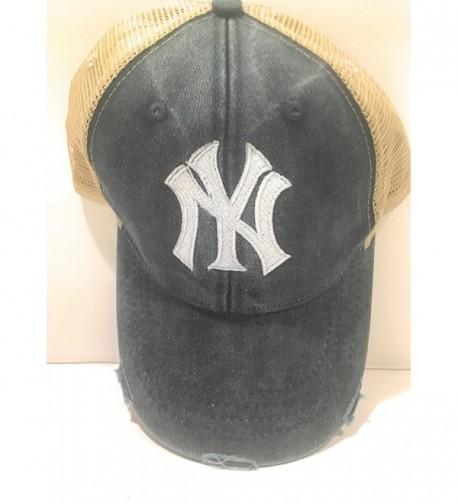 Marys Monograms Monogrammed Yankees Distressed