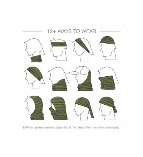 UV Multifunctional Headwear Black Turtle