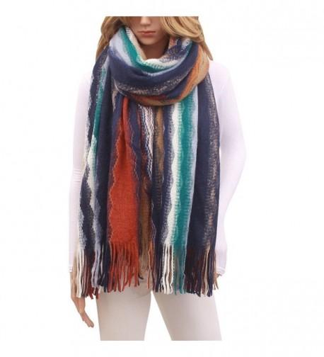 Women Cashmere Winter Blanket Scarf in Fashion Scarves