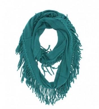 StylesILove Knitted Lightweight Infinity Turquoise