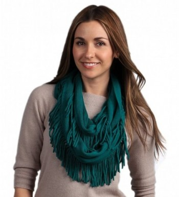 StylesILove Knitted Lightweight Infinity Turquoise in Fashion Scarves