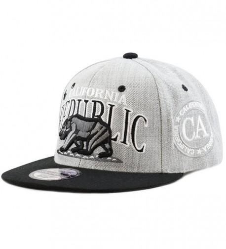Premium Quality Republic California Snapback