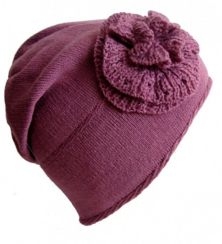 Frost Hats Winter Hat for Women and Girls Slouchy Beanie Warm Hat Ski Beanie M-91 - Purple - C811B2NO7BT